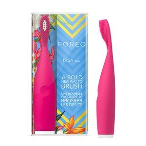 NEW Foreo Issa play pink silicone toothbrush